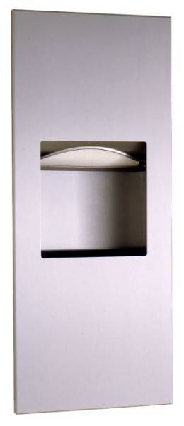 Paper Towel Dispenser and Waste Bin - TrimLine B-36903