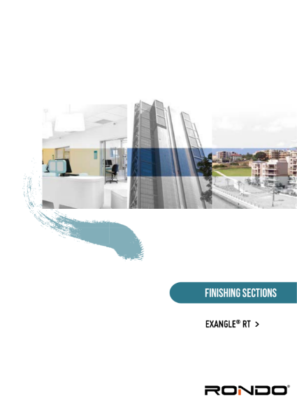 Design Manual - EXANGLE RT Render & Texture Finishing Sections