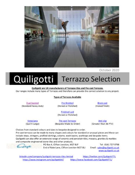 Quiligotti Terrazzo Selections