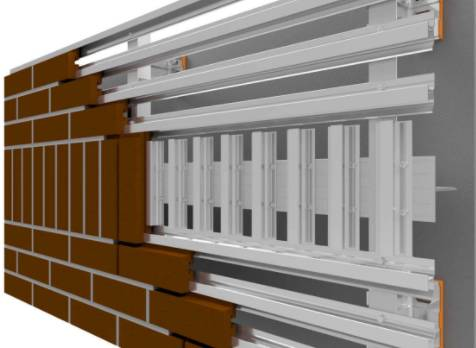 NaturAL-X Brick Cladding System