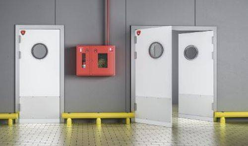 Beplas Hygienic Fire Rated Doors