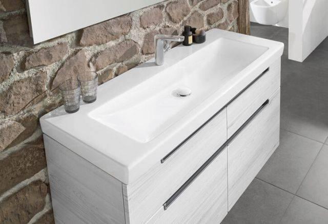 SUBWAY 2.0 Vanity Washbasin 7175 80 XX