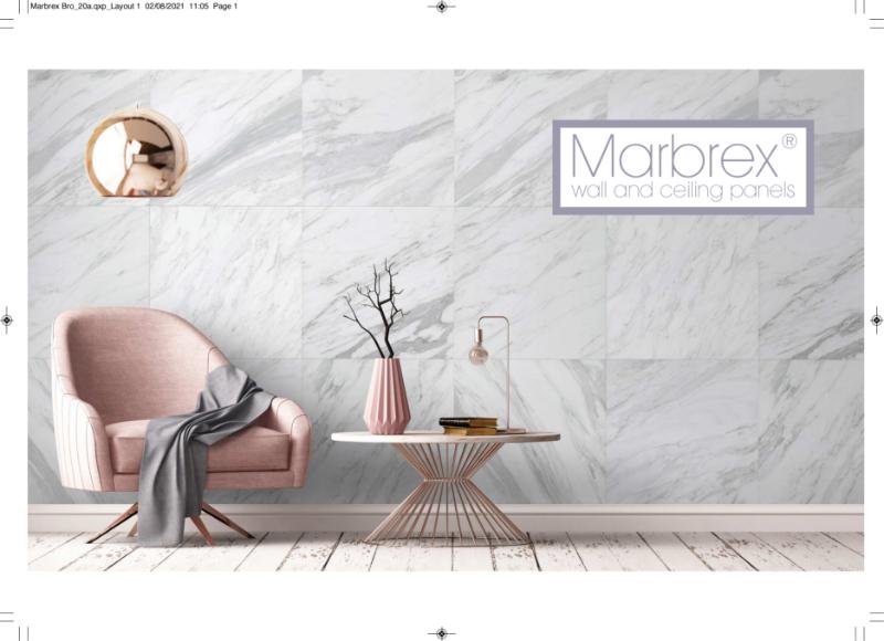 Marbrex Wall & Ceiling Panels Brochure