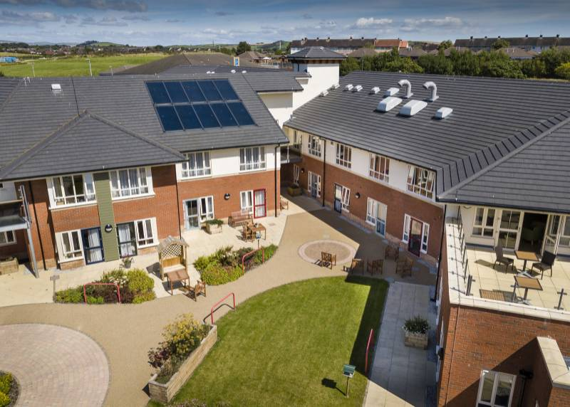 Extra care development, Cumbria