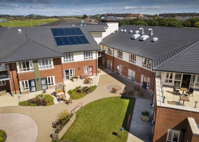 Extra care development, Cumbria