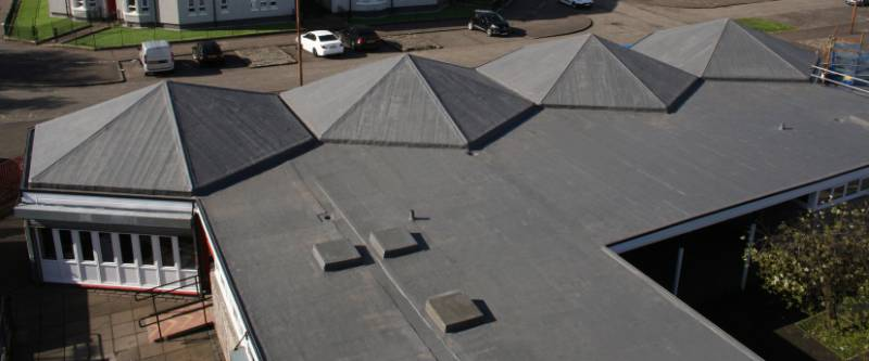 Hydrostop AH-25 Liquid Roofing - Sacred Heart Primary School
