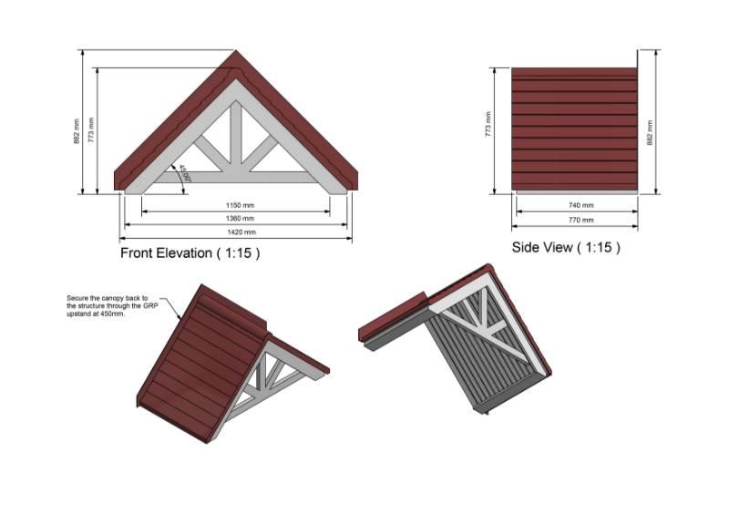 Apex Door Canopy
