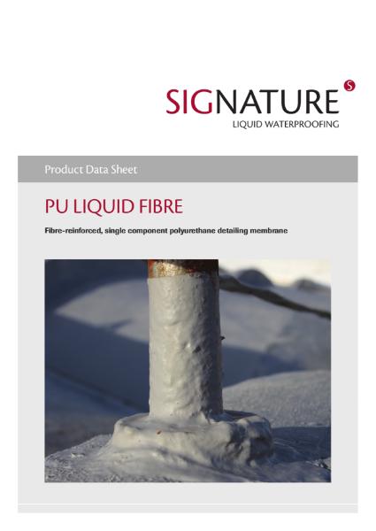 SIGnature PU Liquid Fibre Datasheet