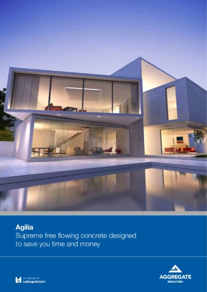 Agilia® self compacting concrete