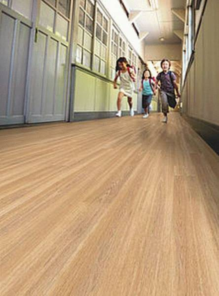 Polysafe Wood fx Acoustix PUR Safety Flooring
