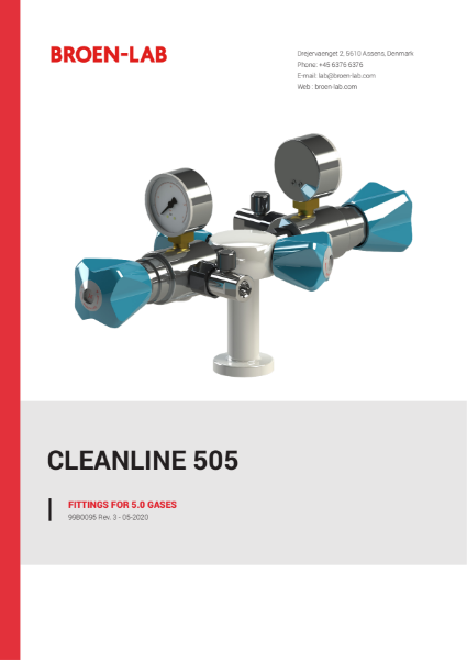FITTINGS FOR PURE 5.0 GASES
