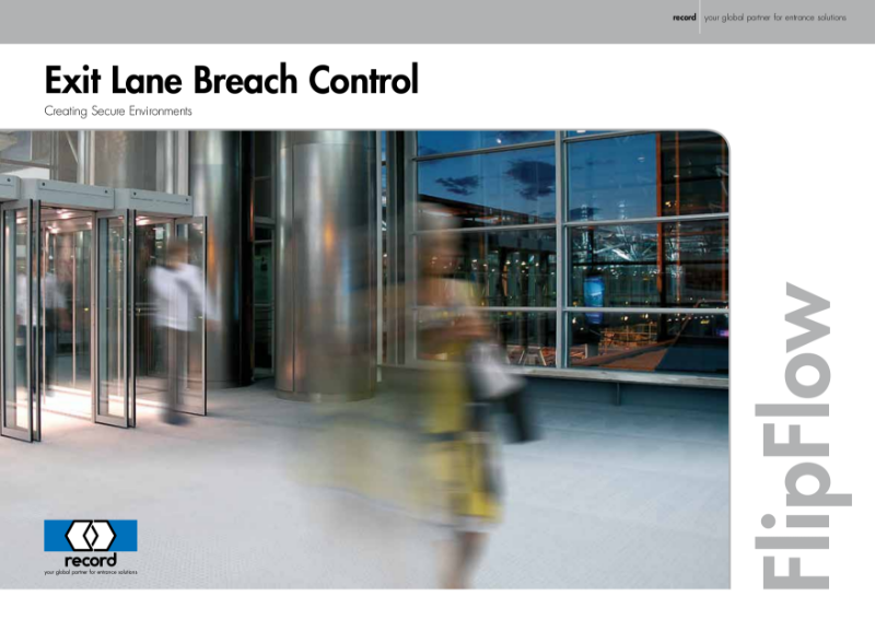 record FlipFlow Breach Control System