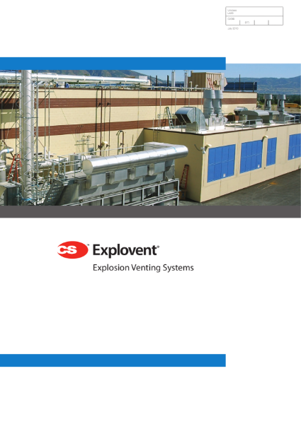 CS Explovent Explosion and Pressure Relief Systems