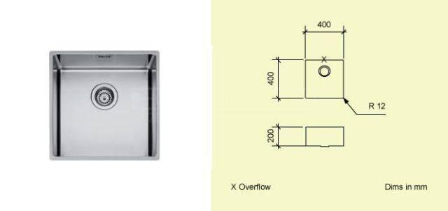 Sink Bowl A40