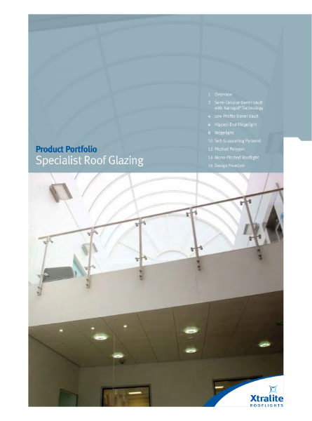 Specialist Roof Glazing