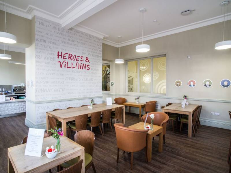 Polyflor's Affinity255 flooring is picture perfect at Redhouse arts and cultural centre