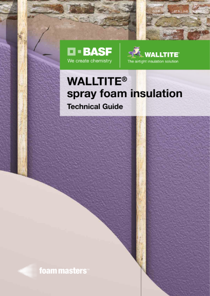 Walltite Spray Foam Insulation - Technical Guide