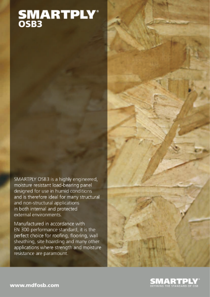 SMARTPLY MAX -  Suitable for structural and non-structural applications in protected external or internal areas