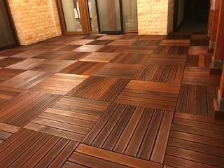 """""""My Hotel in Bucharest..."""" timber tiles create a treasure chest"""