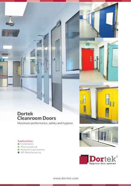 3. Dortek Pharmaceutical Doors Brochure