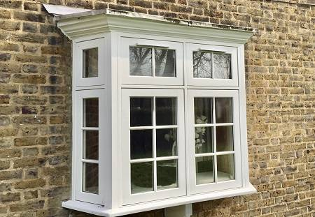 Traditional Flush Casement Timber Windows - Top Hung Over Direct Glazed