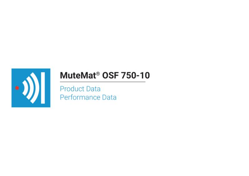 MuteMat® OSF 750-10