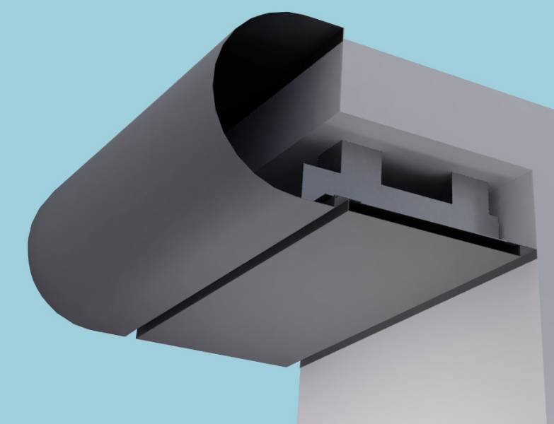 Bullnose Eaves Systems: Fascia Soffit & optional Hidden Gutter