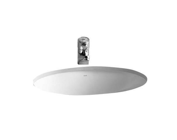 S20 undercounter washbasin, oval