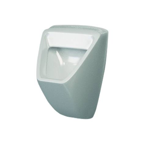 Urinal Geo back inlet and horizontal waste (Mains Fed)