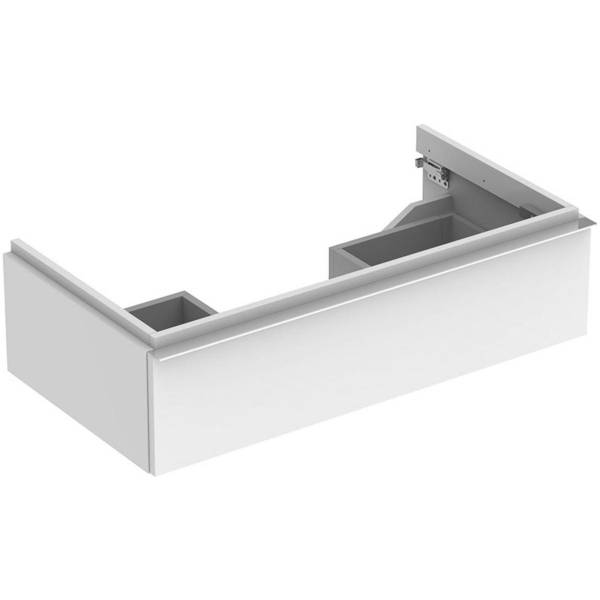 iCon cabinet for washbasin, with one drawer