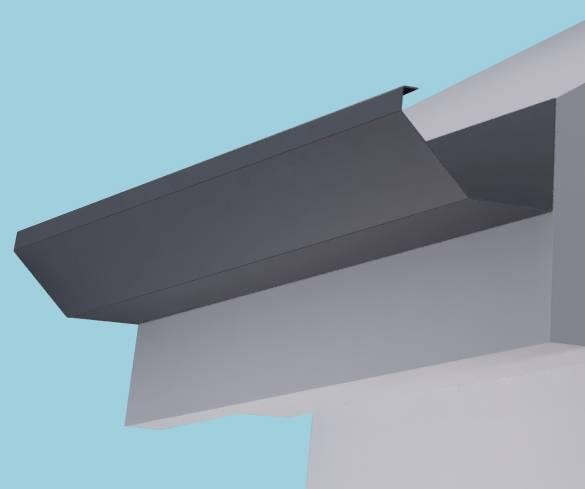 Dales Torent 1 Gutter Aluminium Gutter