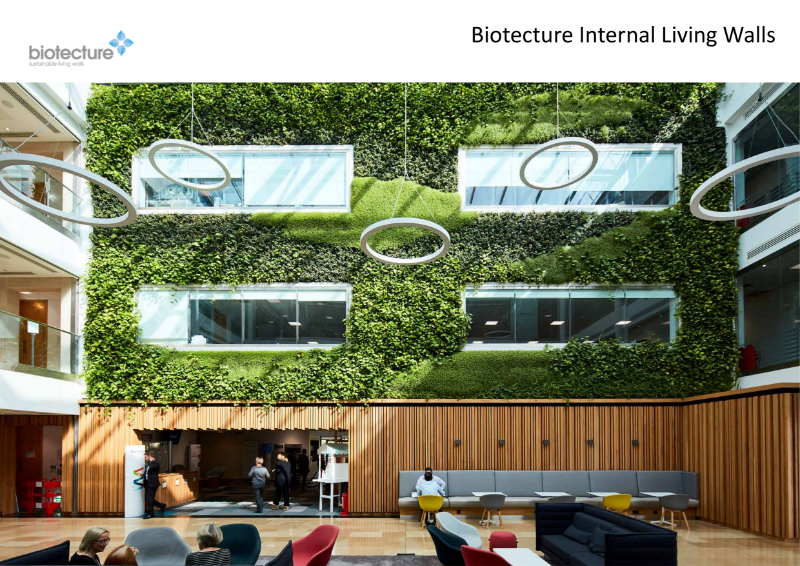 Biotecture - Internal Living Wall product introduction