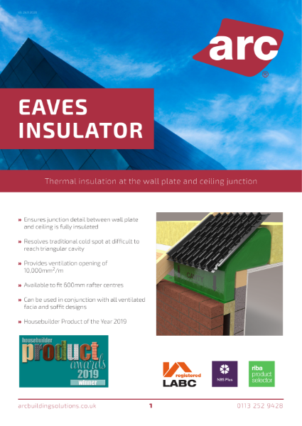 ARC Eaves Insulator