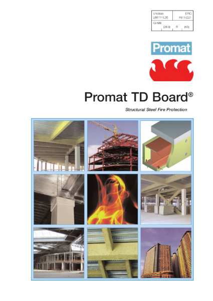 Promat TD Board® - 4 hours fire protection