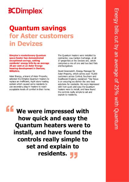 M. Aster Energy - Quantum Heaters
