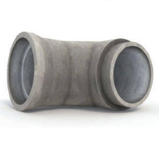 Easi-Flex - Three Piece Bends 90°(Spigot & Socket Pipes)