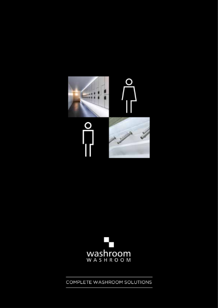Complete washroom solutions: cubicles, lockers, vanities and ducting
