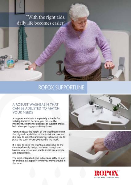 Ropox SupportLine washbasin
