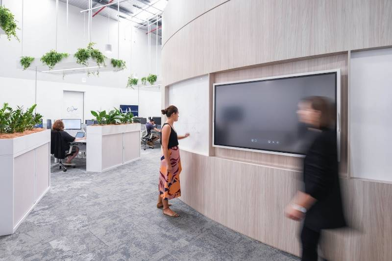 Pro AV's Ultra Modern Workspace Fit Out