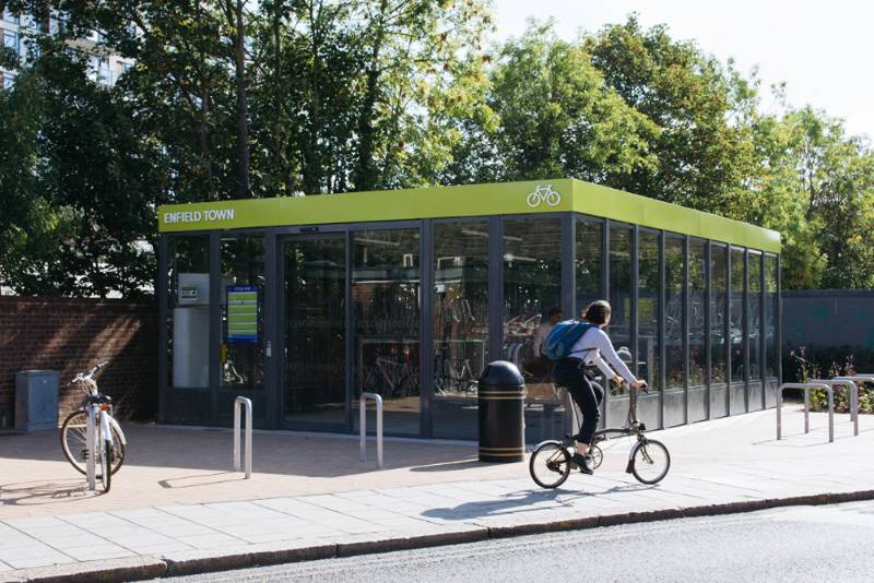 TWO MAJOR CYCLE HUBS IN LONDON BOROUGH OF ENFIELD