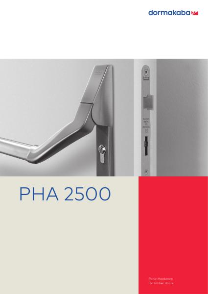PHA 2500 Panic Hardware