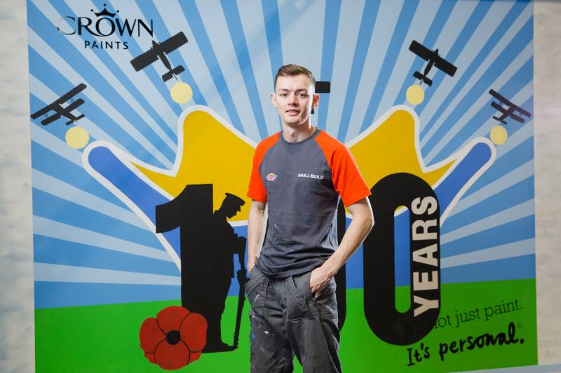 GLASGOW STUDENT CROWNED 2018 APPRENTICE DECORATOR OF THE YEAR