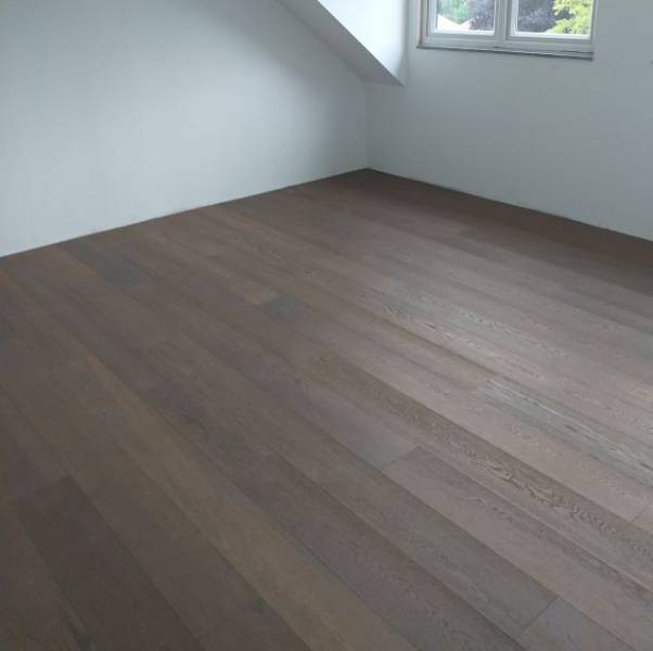 Deep Fumed Dark Engineered Oak Wood Flooring