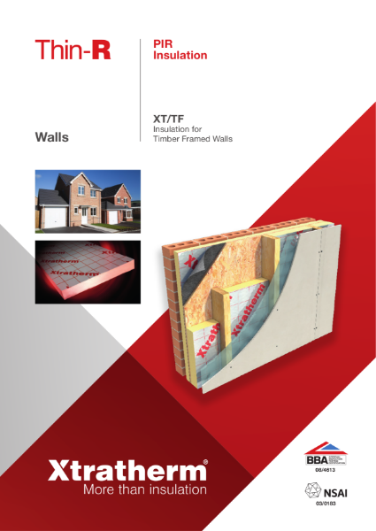 Insulation for Timber Framed Walls (XT/TF)