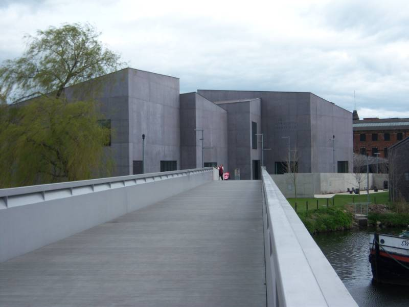 Naylor Concrete supplied The Hepworth Gallery Project