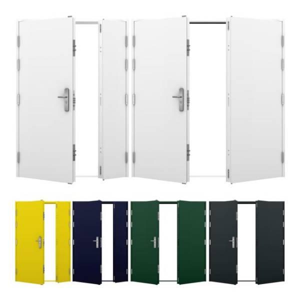 Double Steel Door (High Security)