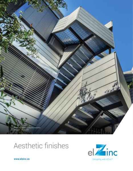 elZinc Aesthetic Finishes Zinc Brochure