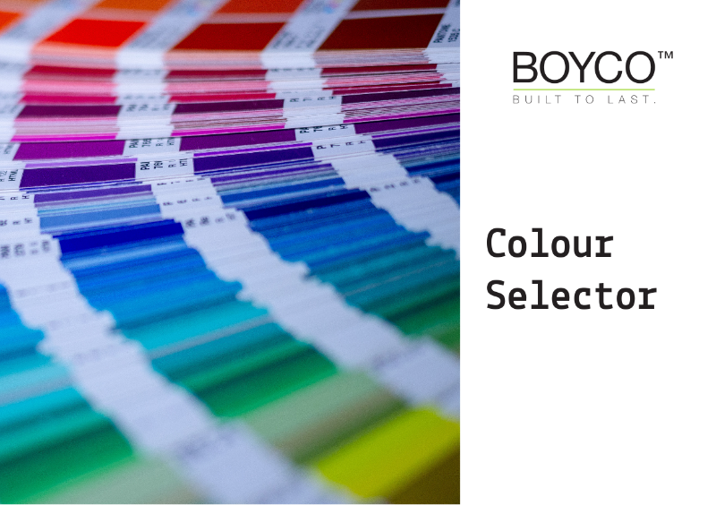 BOYCO UK - Colour Selector Guide