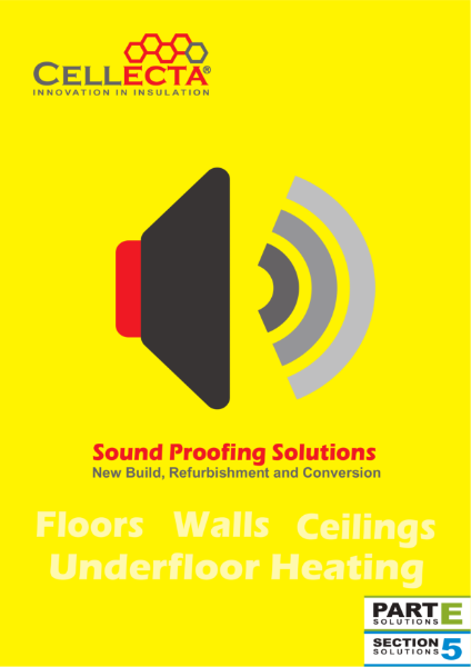 Cellecta Sound Proofing Acoustic Insulation Solutions Brochure