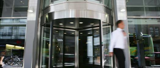 Revolving Door Automatic - ASSA ABLOY RD3/4 3 or 4 Wing 1.8-3.6 m
